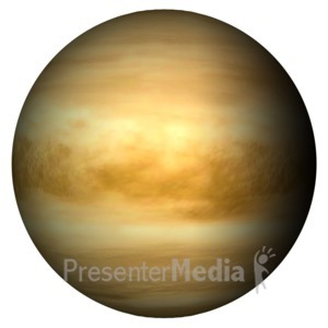 ID# 11600 - The Planet Venus - Presentation Clipart