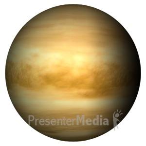 ID# 11600 - The Planet Venus - Presentation Clipart