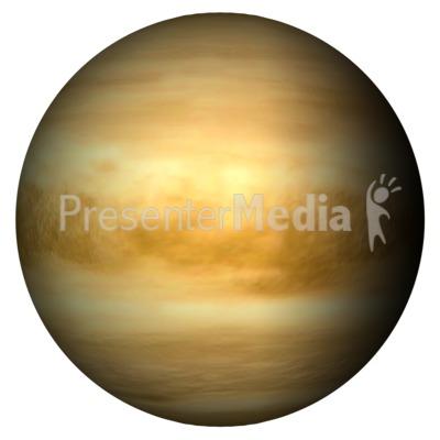 The Planet Venus PowerPoint Clip Art