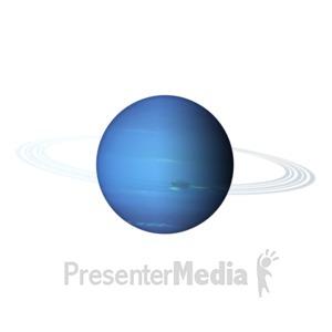 ID# 11607 - The Planet Neptune - Presentation Clipart