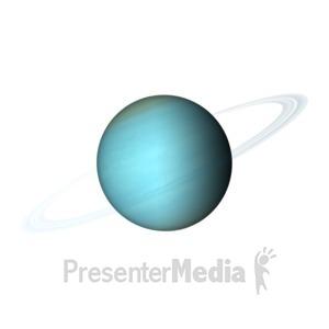 ID# 11608 - The Planet Uranus - Presentation Clipart
