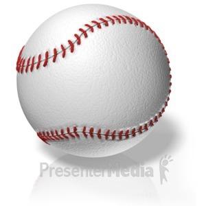 ID# 11646 - Baseball - Presentation Clipart
