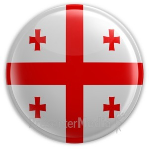 ID# 11689 - Badge of Georgia - Presentation Clipart
