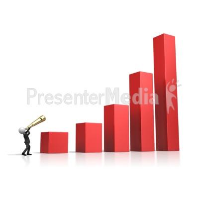Seeing The Future Market PowerPoint Clip Art