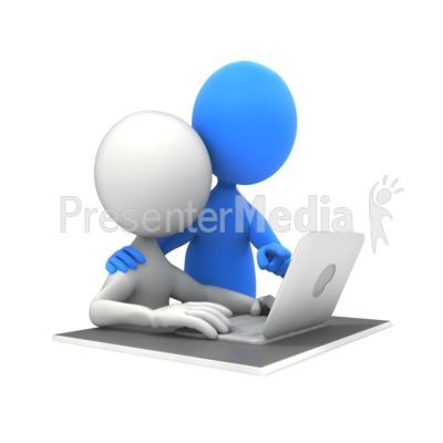 Teacher And Student PowerPoint Clip Art