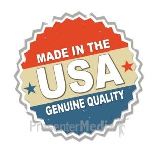 ID# 11799 - Patriotic Seal - Presentation Clipart