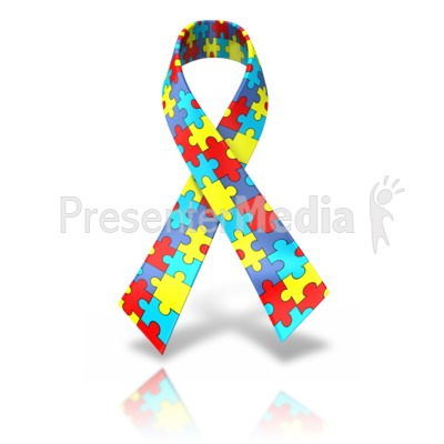 Autism single ribbon presentation clipart great clipart for autism single ribbon powerpoint clip art toneelgroepblik Gallery