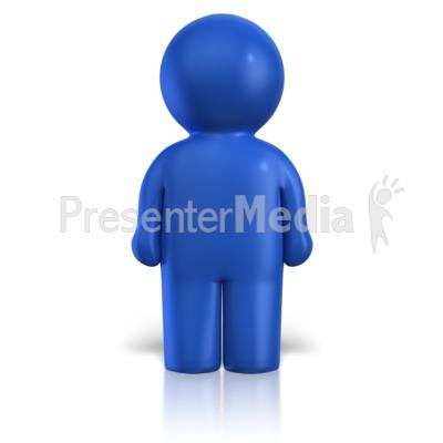 Icon Peg Pawn Figure PowerPoint Clip Art