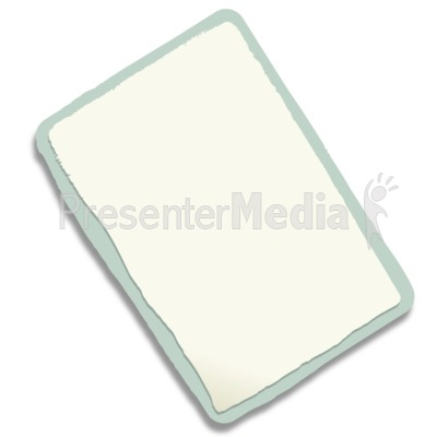 Rectangle Paper Scrap PowerPoint Clip Art