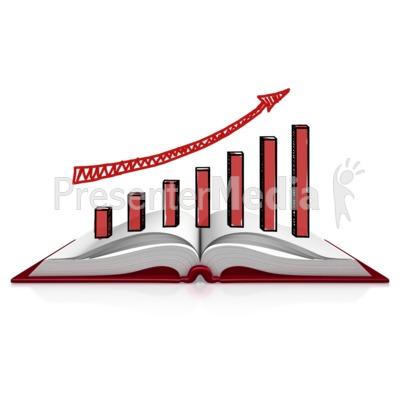 Book Graph Sketch PowerPoint Clip Art