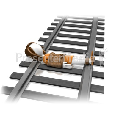 Train Track - Presentation Clipart - Great Clipart for ...