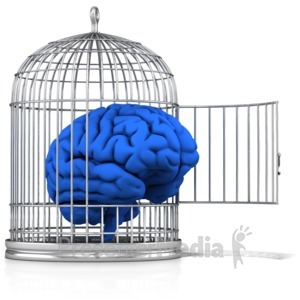 ID# 12054 - Free Your Mind - Presentation Clipart