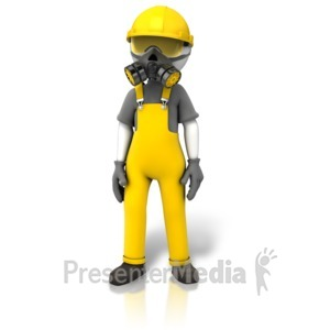 ID# 12062 - Construction Safety Accessories - Presentation Clipart