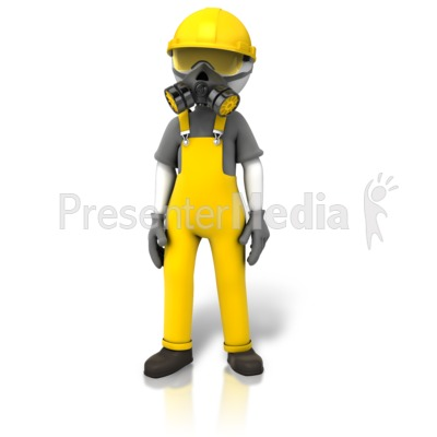 Construction Safety Accessories PowerPoint Clip Art