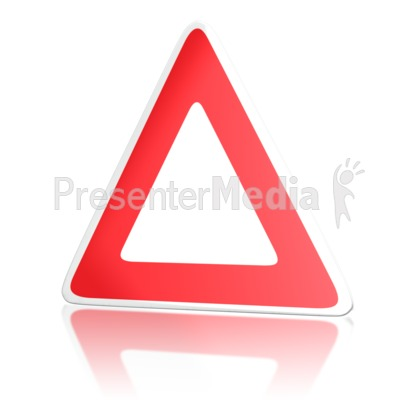 European Road Sign PowerPoint Clip Art