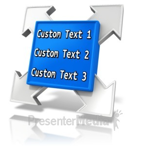 ID# 12077 - Custom Square Element - Presentation Clipart