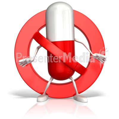 Drugs Prohibited - Signs and Symbols - Great Clipart for Presentations - www ...