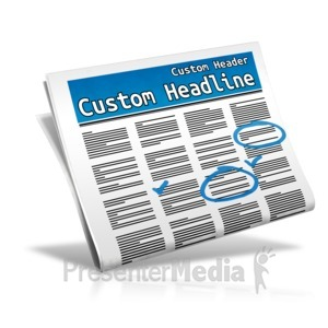 ID# 12091 - Custom Classifieds - Presentation Clipart