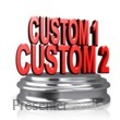 ID# 12124 - Custom Text On A Pedestal - Presentation Clipart