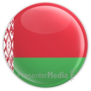 ID# 12125 - Belarus Button - Presentation Clipart