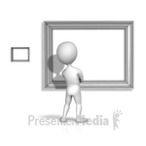ID# 12185 - Looking At Your Bigger Picture - Presentation Clipart