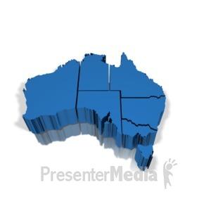 ID# 12238 - Australia - Presentation Clipart