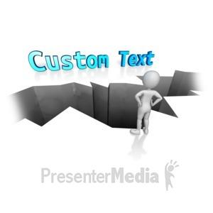 ID# 12244 - Custom Text Gap - Presentation Clipart