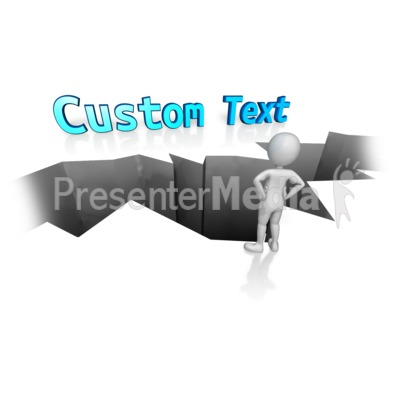 Custom Text Gap PowerPoint Clip Art
