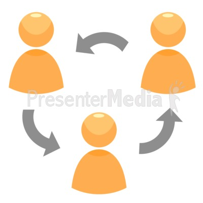 Circle Of People PowerPoint Clip Art