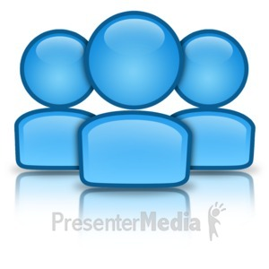 ID# 12316 - Group People Icon - Presentation Clipart