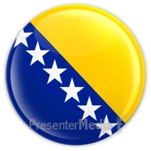 ID# 12360 - Bosnia And Herzegovina - Presentation Clipart