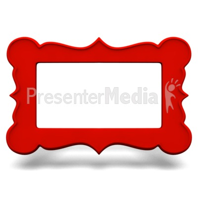 Ornate Picture Frame PowerPoint Clip Art