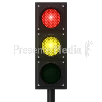 Europeon Traffic Light PowerPoint Clip Art