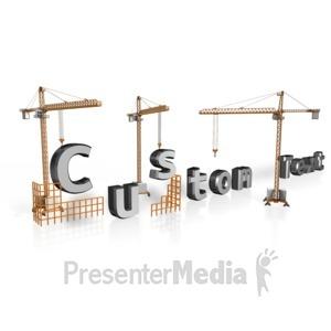 ID# 12963 - Crane Custom Text - Presentation Clipart