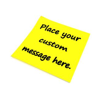 ID# 12975 - Custom Blank Note - Presentation Clipart