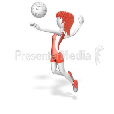 Stick woman volleyball presentation clipart great clipart for stick woman volleyball powerpoint clip art toneelgroepblik Gallery