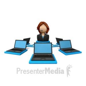 ID# 13013 - Webinar Education - Presentation Clipart