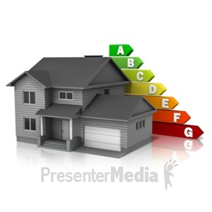 ID# 13031 - House Energy Rating - Presentation Clipart