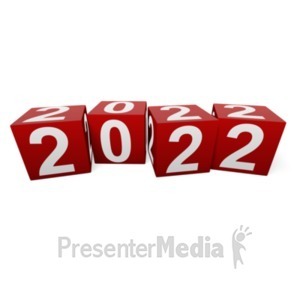 ID# 13039 - Custom Year Blocks - Presentation Clipart