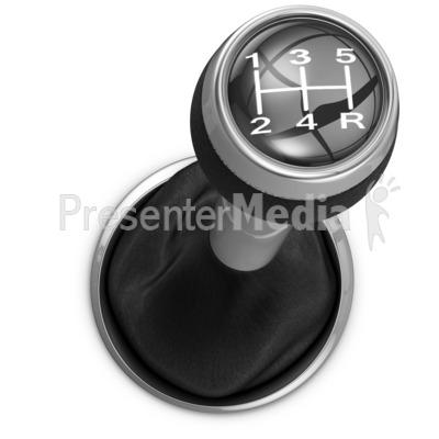 Car Shifter PowerPoint Clip Art