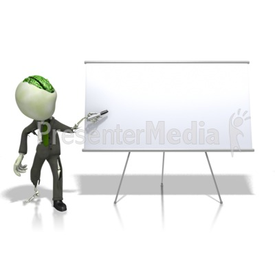 Business zombie walk id 13094 zombie at a white board presentation clipart toneelgroepblik Gallery