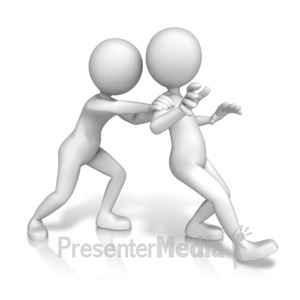 ID# 13118 - Pushing Their Limits - Presentation Clipart