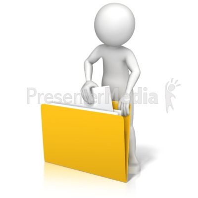 Figure Finding File PowerPoint Clip Art