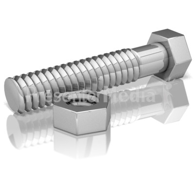 Nut And Bolt - Presentation Clipart - Great Clipart for ...