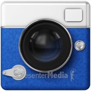 ID# 13235 - Camera Icon - Presentation Clipart