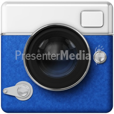 Camera Icon PowerPoint Clip Art