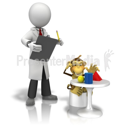 Observation Monkey Test - Presentation Clipart - Great ...