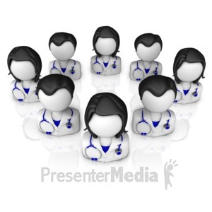 ID# 13344 - Physicians Group - Presentation Clipart