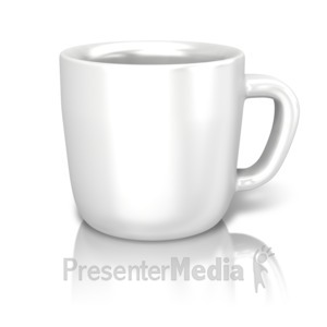 ID# 13366 - Single Coffee Cup - Presentation Clipart