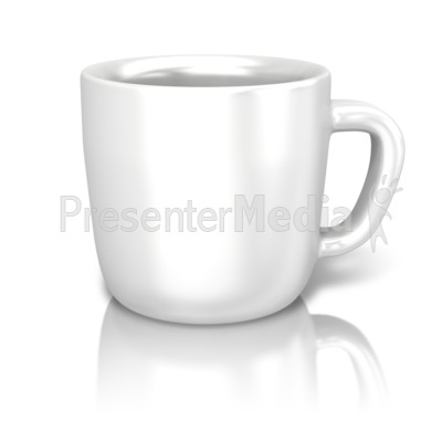 Single Coffee Cup PowerPoint Clip Art